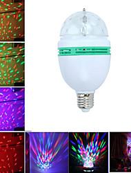 Недорогие -1 компл. Светодиодные сценические огни большие лампочки красочные вращающиеся огни RGB фонари маленький магический шар огни DJ-бар бальные огни украшения e27 интерфейс