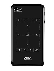 Недорогие -Фабрика oem p8 / p9 dlp мини-проектор светодиодный проектор 50 лм поддержка 4 К 30-120-дюймовый экран
