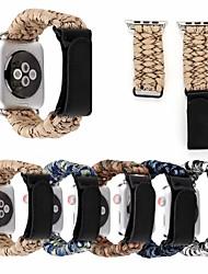 Недорогие -ремешок для часов для Apple Watch серии 4/3/2/1 яблоко классический пряжка ремешок из ткани