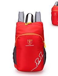 Недорогие -Daofeng 20 L Рюкзаки Легкий упаковываемый рюкзак Дышащий Дожденепроницаемый Быстровысыхающий Компактный На открытом воздухе Рыбалка Пешеходный туризм Походы Полиэстер Черный Зеленый Пурпурный