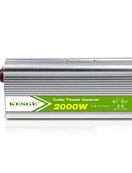 Недорогие -KESGE 2000 Вт высокочастотный и емкостный преобразователь постоянного тока 12В / 24В в 220В / 220В