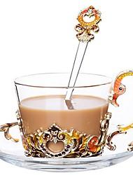Недорогие -стекло Heatproof Творческая кухня Гаджет нерегулярный 1шт Чашка
