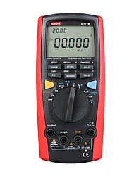 Недорогие -uni-t ut71b профессиональный смарт жк-цифровой переменный ток постоянного тока usb true rel тестер сопротивления амперметр multitester