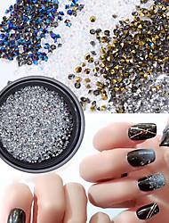 billige -1 pcs Ministil / Bedste kvalitet Rhinsten Rhinsten Til Fingernegl Mode Negle kunst Manicure Pedicure Daglig Stilfuld