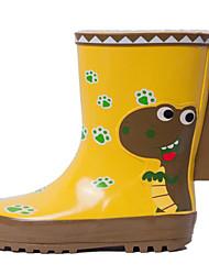 halpa -Tyttöjen Kengät Kumi Syksy Comfort / Kumisaappaat Bootsit varten Lapset Keltainen / Säärisaappaat