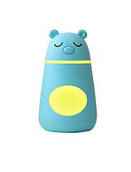tanie -1 sztuk śpiący niedźwiedź trzy-w-jednym nawilżacz mini wielofunkcyjny zasilacz usb wentylator noc światło nawilżający nawilżacz urody pokój dziecięcy samochód przenośny nawilżacz 3 kolory 260 ml