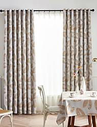 Недорогие -Современный 1 панель Занавес Спальня   Curtains