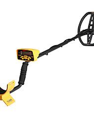 Недорогие -Gtx500 желтый ЖК-дисплей подземный металлоискатель золота с пятью режимами обнаружения