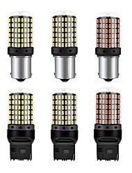 Недорогие -1 шт. Ba15s 1156 p21w автомобиль canbus светодиодный указатель поворота автомобиля 4 Вт 12-24 В 450lm рулевого управления поворотами энергосберегающие лампы лампа красный желтый белый