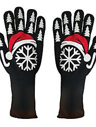 Недорогие -Универсальные Для офиса / Классический С пальцами Перчатки С принтом / Контрастных цветов