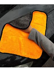 Недорогие -1шт полотенце из микрофибры удобное зеленое 45 * 38 см