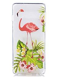 halpa -Etui Käyttötarkoitus Samsung Galaxy Galaxy S10 Plus / Galaxy S10 E Läpinäkyvä / Kuvio Takakuori Eläin / Kukka Pehmeä TPU varten S9 / S9 Plus / S8 Plus