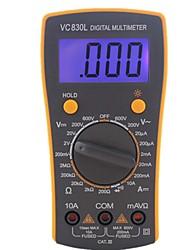 Недорогие -Профессиональный электрический ручной AC DC ЖК-дисплей тестер метр цифровой мультиметр мультиметр амперметр multitester