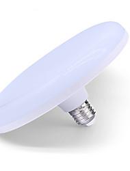 billige -1pc 24 W LED-globepærer 1010-1210 lm E26 / E27 48 LED Perler Kold hvid 175-265 V