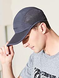 Недорогие -Шляпа для туризма и прогулок Бейсболка Кепка 1 ед. С защитой от ветра Защита от солнечных лучей Устойчивость к УФ Дышащий Пэчворк Чинлон Лето для Муж. / Быстровысыхающий