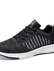 economico -Per uomo Scarpe comfort Retato / Tissage Volant Estate Per sport scarpe da ginnastica Corsa Antiscivolo Monocolore Nero / Grigio / Blu