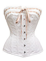 abordables -Sergé Corset Broderie Mariage