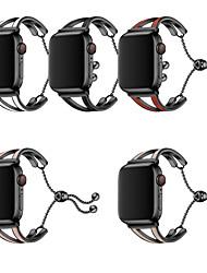 Недорогие -женщины для яблок ремешки для часов 38 / 40мм 42 / 44мм браслет из нержавеющей стали ремешок для часов серии iwatch 4 3 2 1