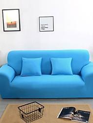 Недорогие -чехлы на диван чехлы синего однотонного полиэстера с реактивной печатью / высокопрочные чехлы для диванов