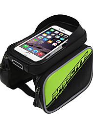 Недорогие -Сотовый телефон сумка Бардачок на раму 6 дюймовый Велоспорт для Золотой Серебряный Синий Велосипеды для активного отдыха