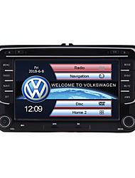 Недорогие -ABACK 7 inch Double 2 Din Navigation DVD Auto Audio Video For VW Universal 7 дюймовый 2 Din Windows CE В-Dash DVD-плеер / Автомобильный GPS-навигатор Встроенный Bluetooth / Контроль на руле
