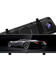Недорогие -S-8 1080p Автомобильный видеорегистратор 170° Широкий угол КМОП-структура 10 дюймовый IPS Капюшон с Ночное видение / Режим парковки / Циклическая запись Автомобильный рекордер