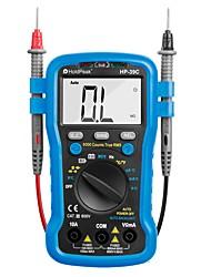 Недорогие -Цифровой мультиметр Holdpeak Hp-39c Автоматический тестер диапазона AC / AC 6000 рассчитывает истинное действующее значение.