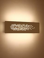 abordables -OYLYW Style mini / Design nouveau LED / Moderne contemporain Appliques Salle de séjour / Chambre à coucher Métal Applique murale AC100-240V 8 W