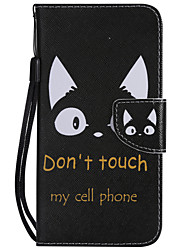 Недорогие -чехол для яблока iphone xr / iphone xs max pattern / флип / с подставкой для всего тела чехлы дерево / перья / кошка мягкая искусственная кожа для iphone 6 / 6s / iphone 6 / 6s plus / iphone 7/8 /