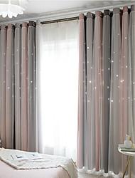 Недорогие -Современный Солнцезащитные 1 панель Шторы и шторы Спальня   Curtains
