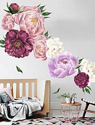 Недорогие -богатые и элегантные цветы настенные наклейки - слова&ампер цитаты стикеры на стенах персонажей кабинет / кабинет / столовая / кухня
