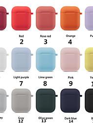 Недорогие -красочный набор защитных наушников для apple airpods портативный силиконовый ремешок крышка чехол для подушек воздуха гарнитура аксессуары поставки