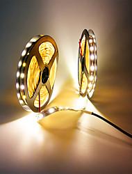Недорогие -zdm 32.8ft / 10m не водонепроницаемый 600 единиц smd 5050 10 мм светодиоды dc12v гибкие светодиодные полосы света для отдыха / дома / вечеринки / для интерьера / украшения
