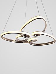 Недорогие -4 лепестка в форме сердца с люстрами для столовой / гостиной