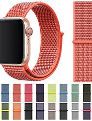 Недорогие -Ремешок для часов для Apple Watch Series 4 / Apple Watch Series 4/3/2/1 Apple Спортивный ремешок Нейлон Повязка на запястье