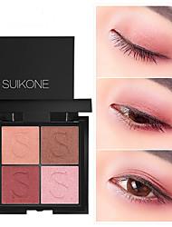 Недорогие -Make-up For You 4 цвета Тени Муж. и жен. / Глаза / Взрослый Модный дизайн / Легко для того чтобы снести / Женский / прочный / Молодежный Компактность Натуральный / Отблеск