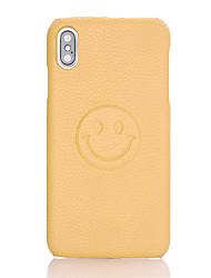 ราคาถูก -Case สำหรับ Apple iPhone X / iPhone XS Embossed ปกหลัง การ์ตูน3 D Hard หนัง PU สำหรับ iPhone XS / iPhone X