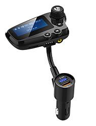 Недорогие -Bluetooth 5.0 FM-передатчик автомобиля громкой связи FM-радио / MP3 / FM-передатчики автомобиля