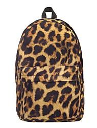 halpa -Naisten Vetoketjuilla Backpack Suuri tilavuus Polyesteri Keltainen