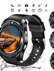 Недорогие -наручные часы с сенсорным экраном Bluetooth V8S умные часы с камерой / слот для SIM-карты водонепроницаемый смарт-часы