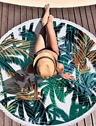 Недорогие -Высшее качество Пляжное полотенце, Цветочные / ботанический 100%микро волокно 1 pcs