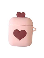 Недорогие -защитный чехол для airpods love pattern мягкий ящик для хранения apple airpods чехол для наушников