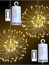 Недорогие -0.2m взрыв звезды фейерверк эффект светодиодные декоративные огни строки 100 светодиодов smd 0603 1 13