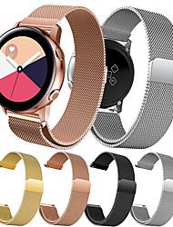 Недорогие -Ремешок для часов для Gear S2 / Samsung Galaxy Watch 42 / Samsung Galaxy Active Samsung Galaxy Миланский ремешок Нержавеющая сталь Повязка на запястье