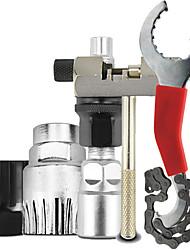 Недорогие -Наборы для ремонта Гаечный ключ для велосипедной цепи Съёмный ключ для маховика Компактность Прочный Назначение Шоссейный велосипед Горный велосипед Велосипеды для активного отдыха Велоспорт Aluminum