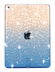 Недорогие -чехол для apple ipad mini 5 / new air (2019) прозрачный / противоударный 3d задняя крышка цвет градиент мягкое тпу для ipad pro 9.7 '/ ipad (2017) / (2018) pro 10.5 / ipad 2/3/4 / air 2 / про 11 '' /
