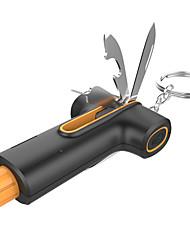 Недорогие -6-в-1 аварийный молоток ремня безопасности нож консервный нож с плоской отверткой универсальный нож SD для удаления карты размер 82 * 43 * 25 мм