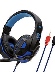 Недорогие -soyto sy830mv регулируемая длина петель 3,5 мм стереогарнитура для наушников с микрофоном для ПК 3 цвета на выбор