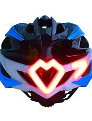 Недорогие -Взрослые Мотоциклетный шлем Лампы сигнала поворота 24 Вентиляционные клапаны Ударопрочный Формованный с цельной оболочкой Вентиляция прибыль на акцию Виды спорта