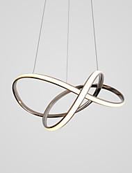 baratos -CONTRACTED LED® Sputnik / Novidades Lustres Luz Ambiente Acabamentos Pintados Alumínio Criativo, LED, Novo Design 110-120V / 220-240V Branco Quente / Branco Frio